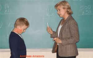 ohrfeige von Lehrerin