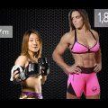 Gabi Garcia dá Chute ilegal em lutadora com metade do peso e anos mais velha Japan July 7th 2017